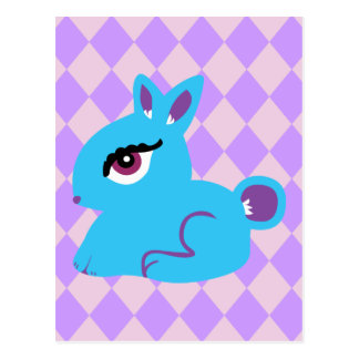 Blue Bunny Post Cards