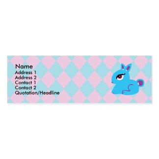 Blue Bunny Profile Cards Business Card