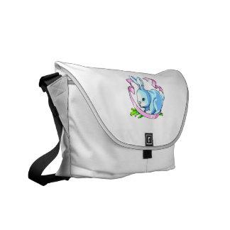blue bunny purple ribbon.png messenger bags