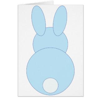 Blue Bunny Rabbit Cards