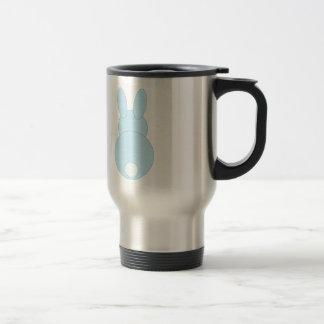 Blue Bunny Rabbit Coffee Mugs