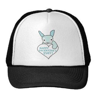 Blue Bunny Valentine Mesh Hats