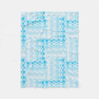 Blue bunting blanket