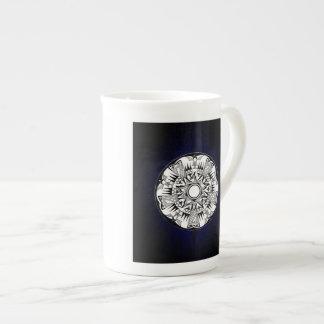 'Blue Burst' Bone China Mug