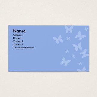 Blue Butterflies Business Card