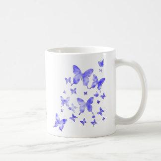 Blue Butterflies Coffee Mug