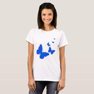 Blue Butterflies In Flight T-Shirt