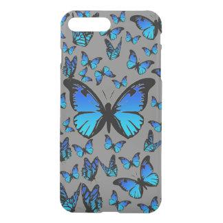 blue butterflies iPhone 7 plus case