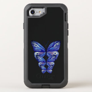 Blue butterflies OtterBox Apple iPhone 6/6s OtterBox Defender iPhone 7 Case