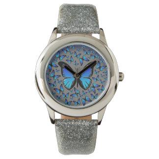 blue butterflies watch