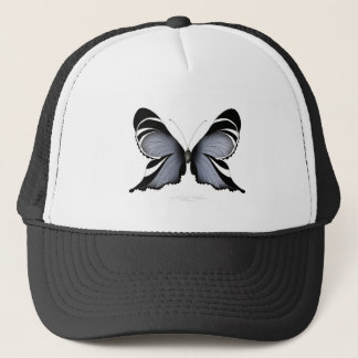 Blue Butterfly 3 Sulawesi Woodtree Trucker Hat