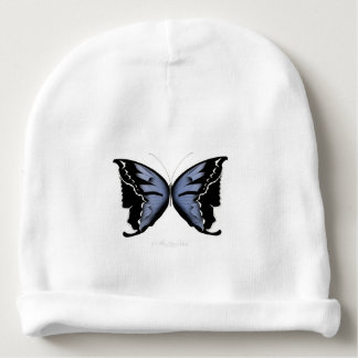 Blue Butterfly 4 Blue Marsh Maid Baby Beanie