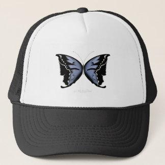 Blue Butterfly 4 Blue Marsh Maid Trucker Hat