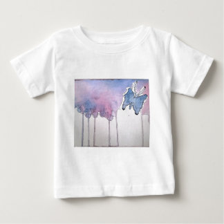 blue butterfly baby T-Shirt