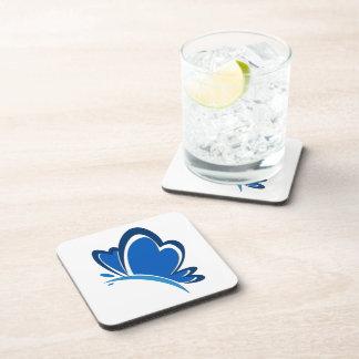 Blue Butterfly Cork Coasters