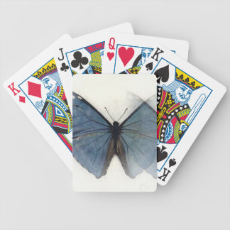 Blue Butterfly Deck Of Cards