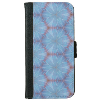 Blue Butterfly Design Caleidoscopic Geometric Case