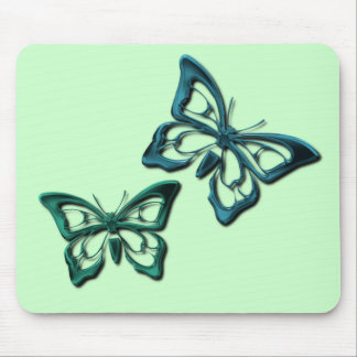Blue Butterfly Designs Mouse Pad