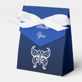 Blue Butterfly Favor Box Party Favour Boxes