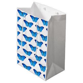 BLUE BUTTERFLY Gift Bag!! Medium Gift Bag