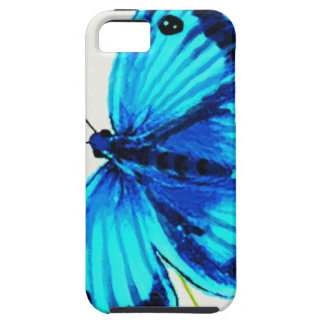 Blue Butterfly iPhone 5 Cover
