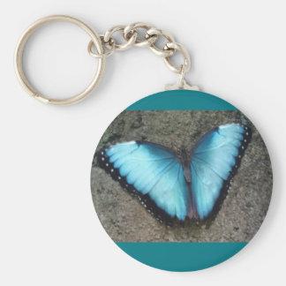Blue Butterfly Key Chain