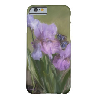 BLUE BUTTERFLY LANDING BARELY THERE iPhone 6 CASE