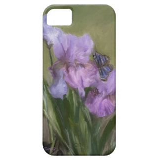BLUE BUTTERFLY LANDING iPhone 5 COVER