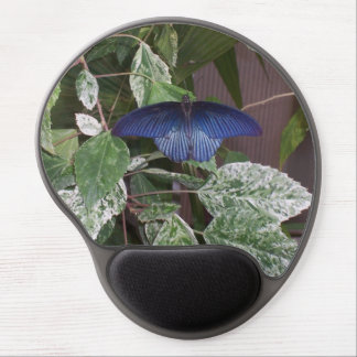 Blue Butterfly Photo Gel Mouse Pad