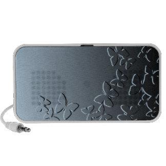 Blue Butterfly Mini Speakers