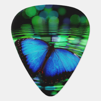 Blue Butterfly Standard Guitar Pick