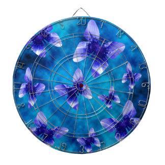 Blue Butterfly Summer. Dartboard