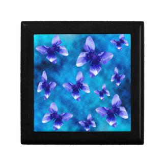 Blue Butterfly Summer. Gift Box