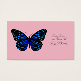 Blue butterfly Thunder_Cove Business Card