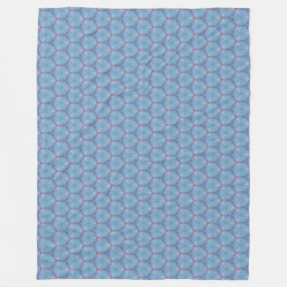 Blue Butterfly Wing Caleidoscopic Blanket