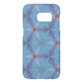Blue Butterfly Wing Caleidoscopic Design