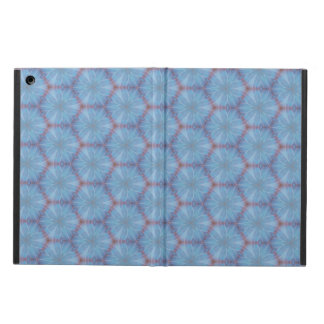 Blue Butterfly Wing Geometric Caleidoscopic Case Cover For iPad Air