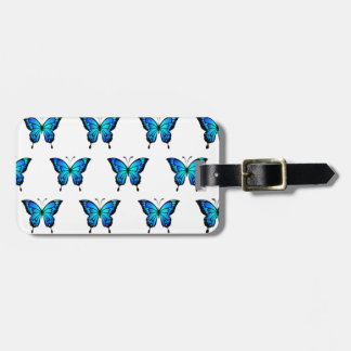 Blue Butterflys by storeman. Luggage Tag
