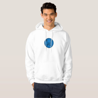 Blue Button Bash Hoodie
