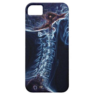 Blue C-spine iPhone 5 case