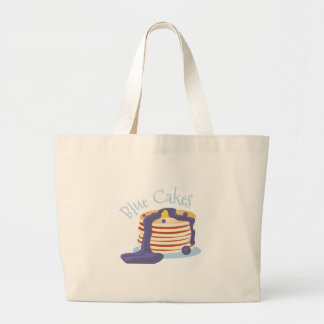 Blue Cakes Jumbo Tote Bag