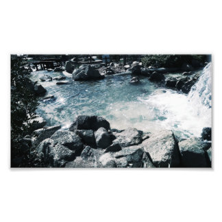 Blue Calming Water Photo Print