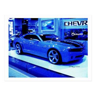 """Blue Camaro"" © 2009 S.J. Postcard"
