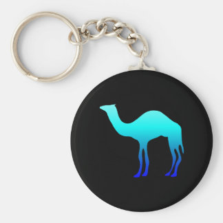Blue Camel Key Ring