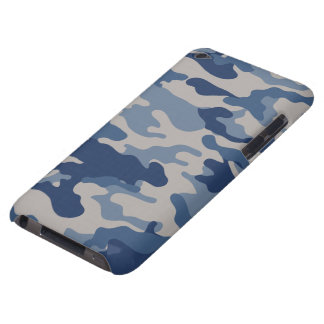 Blue Camo Case-Mate iPod Touch Barely There iPod Covers