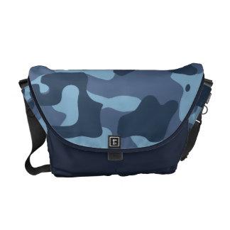 BLUE CAMO COURIER BAGS