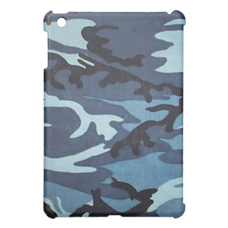 Blue Camo iPad Case