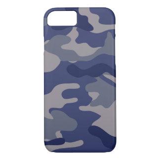 Blue Camo iPhone 7 Case