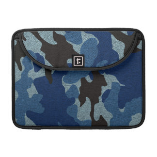 Blue Camo Military 13 Inch Macbook Pro Sleeves Sleeve For MacBooks