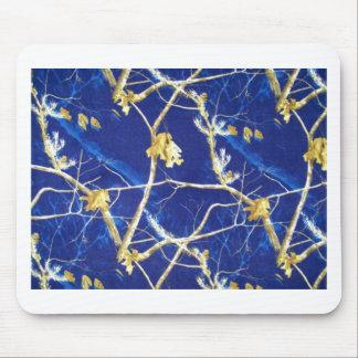 Blue Camo Mouse Pad